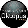 Friendly Cityhotel Oktopus Logo