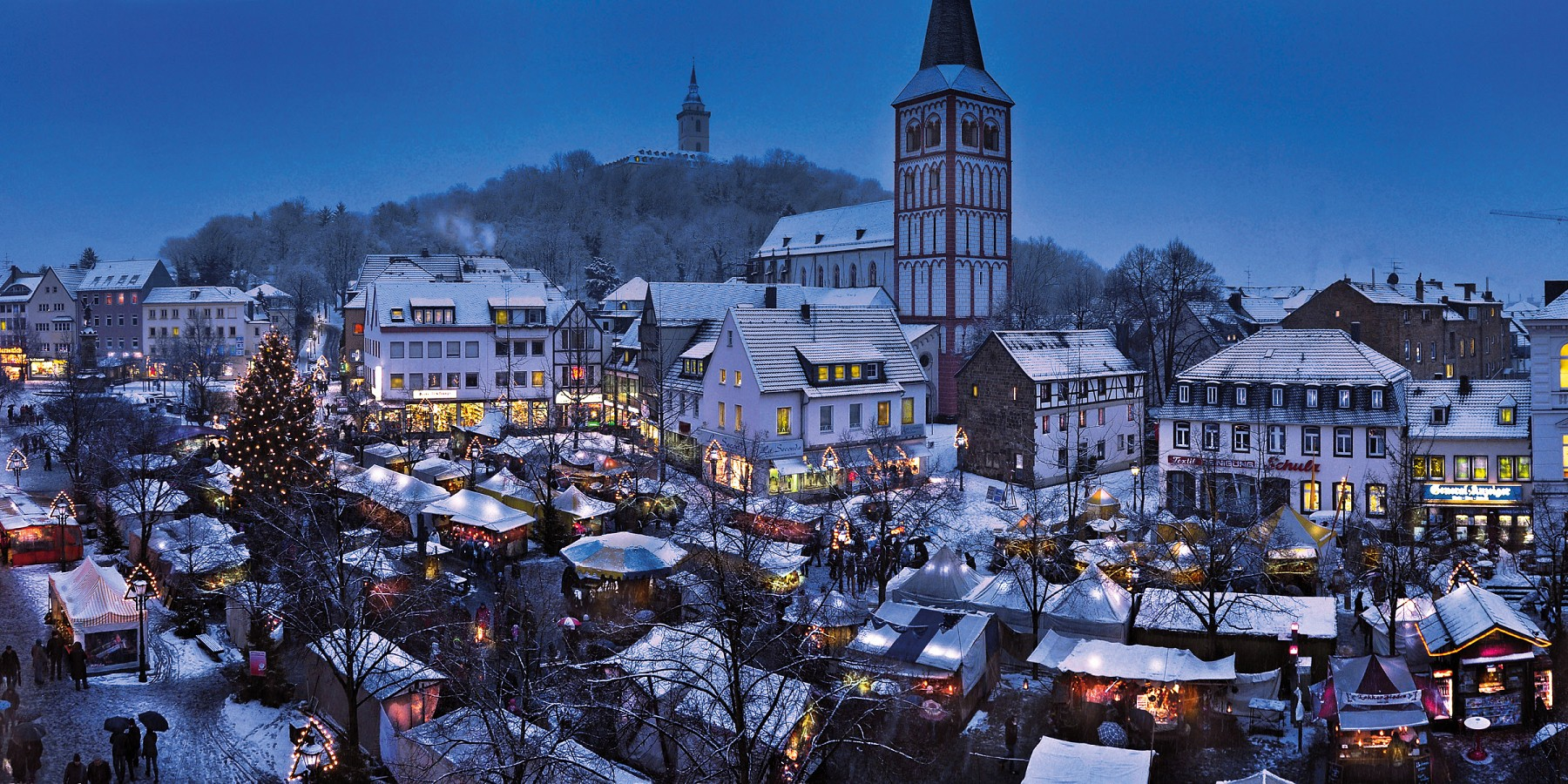 Christmas magic in medieval Siegburg