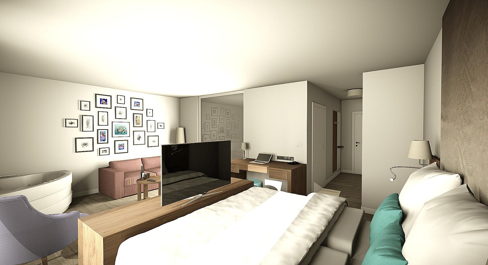 suite friendly cityhotel oktopus siegburg. Black Bedroom Furniture Sets. Home Design Ideas